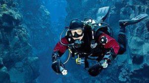 Iceland Drysuit Diver