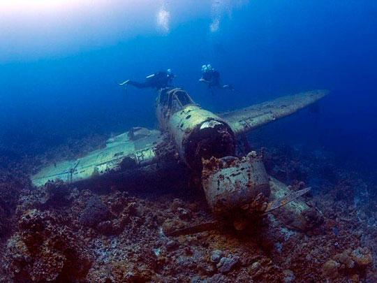Jake Seaplane Wreck - Palau