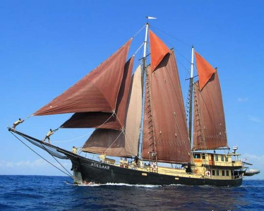 SY Adelaar Komodo Island Liveaboard