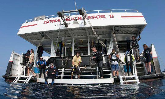Kona Aggressor II Dive Platform