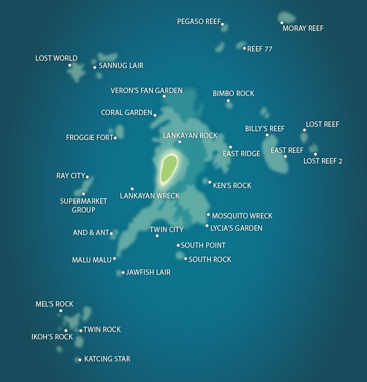 Lankayan Island Dive Sites Malaysia