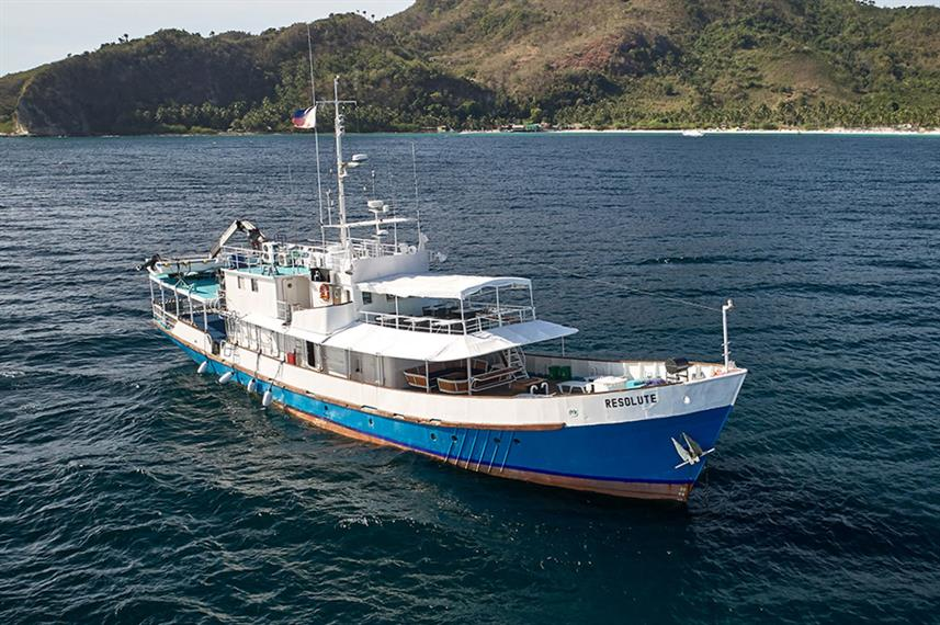MY Resolute Liveaboard Dive Boat