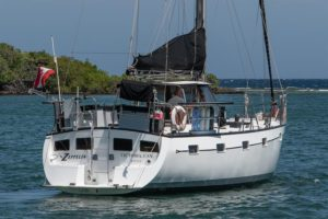 Roatan Aggressor Stern - Roatan Honduras Liveaboard Diving