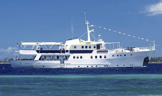 MY Pelagian Wakatobi Liveaboard Dive Boat