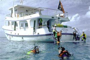 MV Chertan PNG liveaboard dive boat
