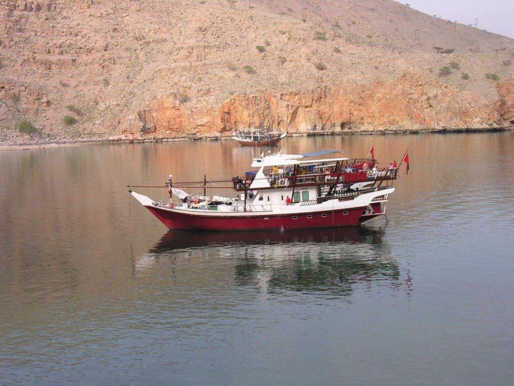 Red Dhow Oman Liveaboard Dive Boat