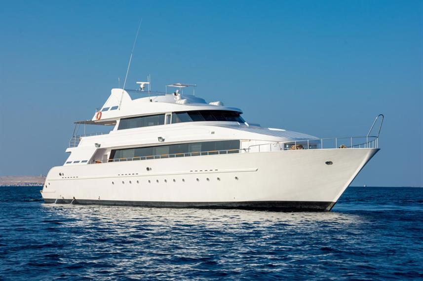 MY Lucy Djibouti Liveaboard Dive Boat