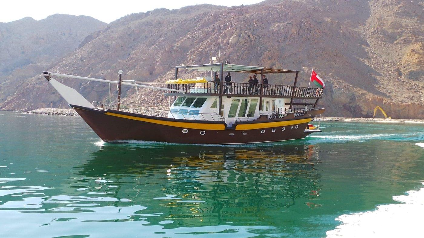Brown Dhow Oman Liveaboard Dive Boat