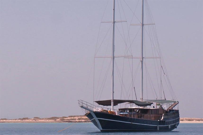 MV Deli Djibouti Liveaboard Dive Boat