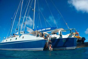Cuan Law British Virgin Islands Liveaboard Dive Boat