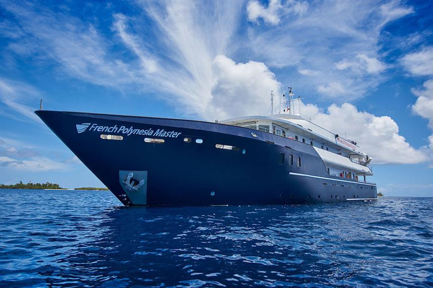 French Polynesia Master Liveaboard Dive Boat