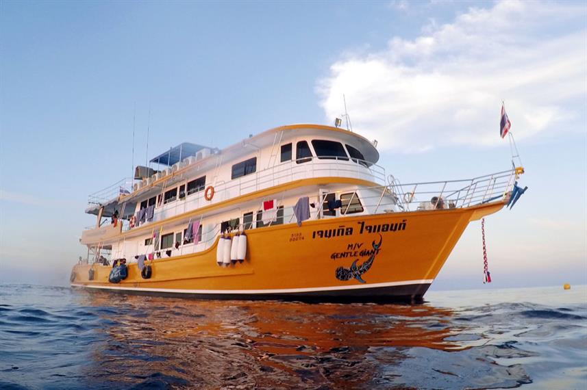 MV Gentle Giant Thailand Liveaboard Dive Boat