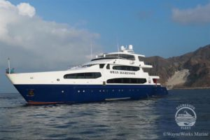 Oman Aggressor Liveaboard Dive Boat