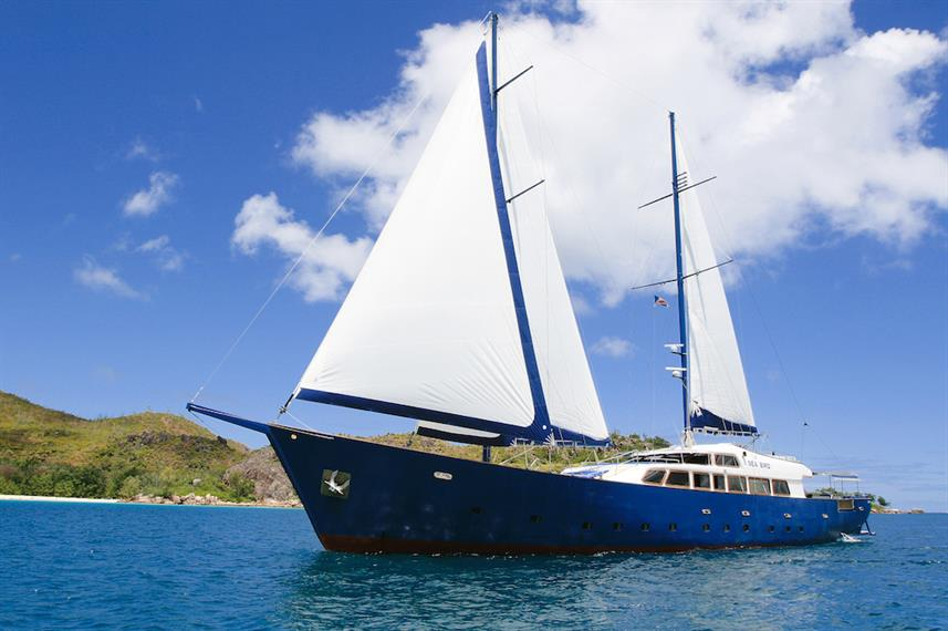 SY Sea Bird Seychelles Liveaboard