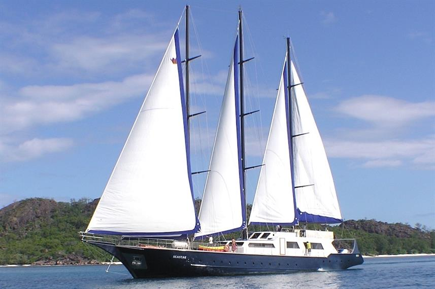 SY Sea Star Seychelles Liveaboard