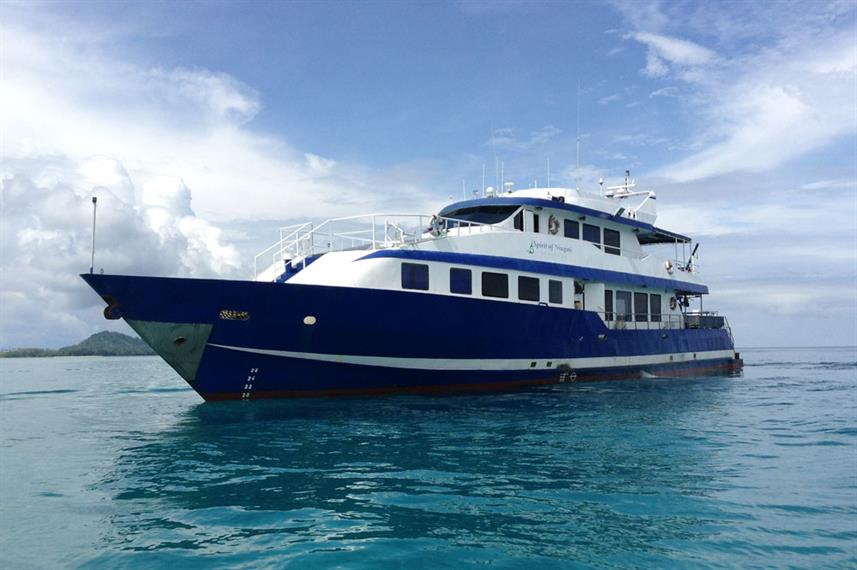 MV Spirit of Niugini PNG Liveaboard Dive Boat