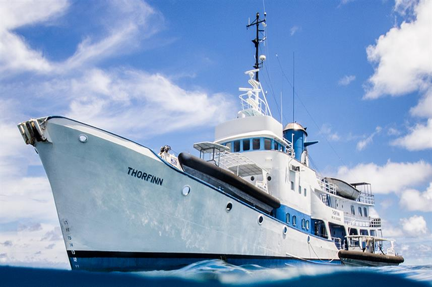 SS Thorfinn Truk Liveaboard Dive Boat