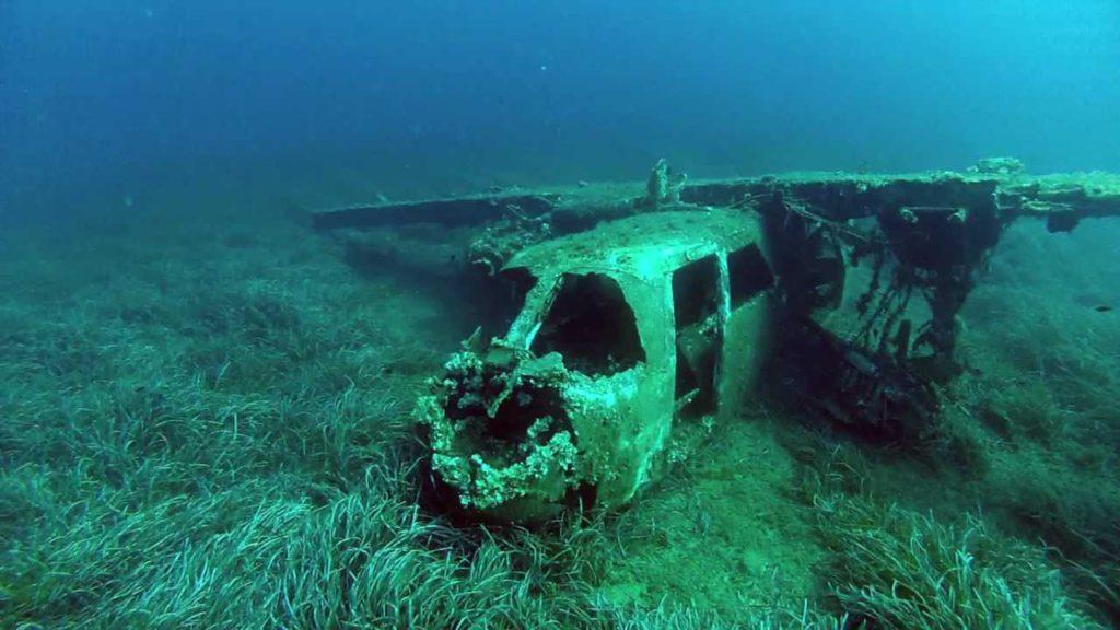 Elba Island Plane Wreck