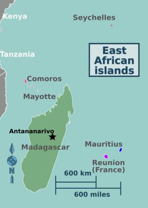 Reunion Location Map
