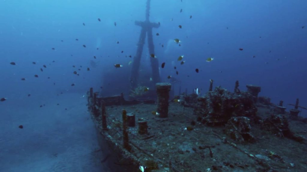 Hai Tsiang Wreck - Reunion Island