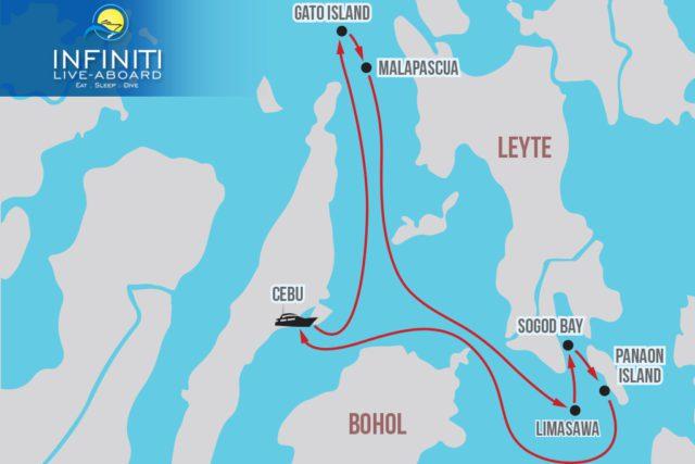 Infiniti Malapascua Sogod Bay Cebu Itinerary