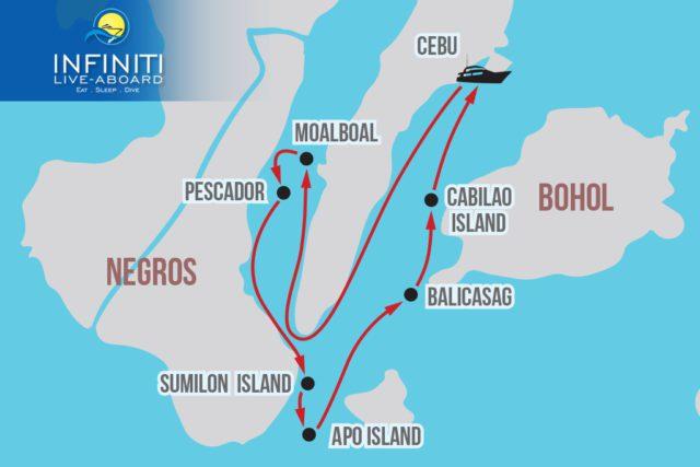 Infiniti Cebu/Bohol/Visayas Itinerary
