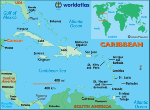 Cancun Location Map