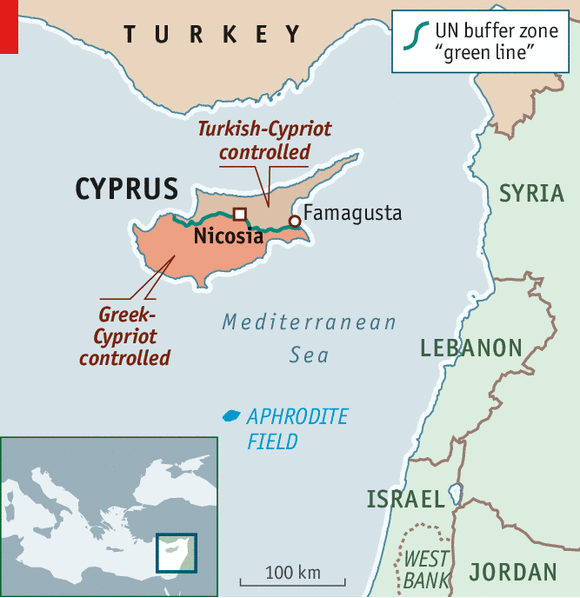 Cyprus Location Map