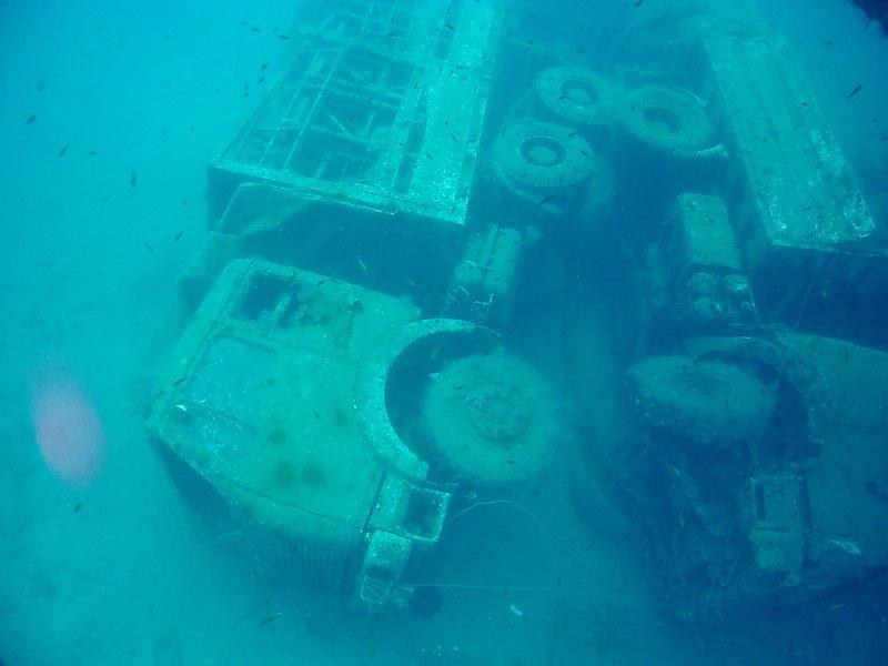 Zenobia Wreck Truck - Cyprus
