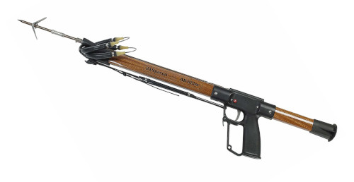 AB Biller Mohogany Speargun