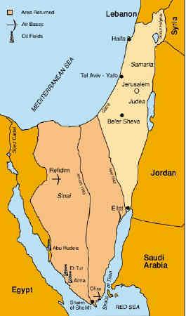 Eilat Location Map