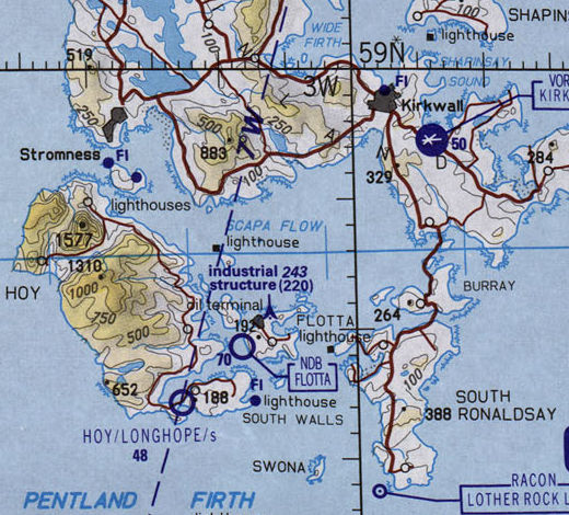 Scapa Flow Map