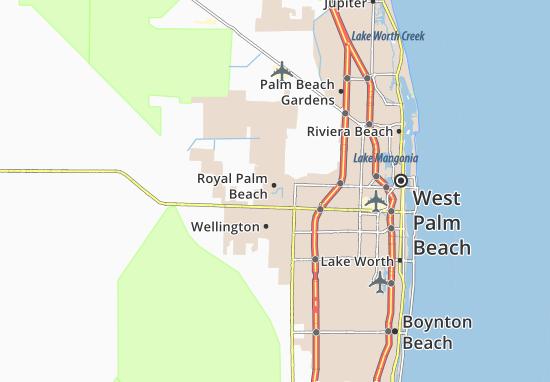 West Palm Beach Map