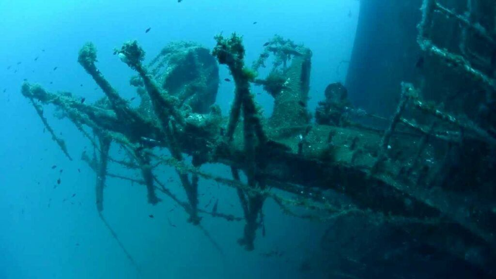 Don Pedro Wreck - Ibiza, Spain
