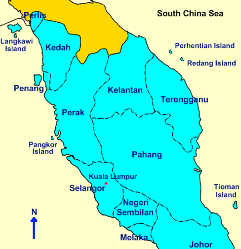 Langkawi Location Map