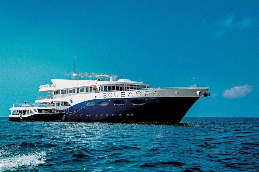 MV Scubaspa Yang - Thailand Liveaboard Diving
