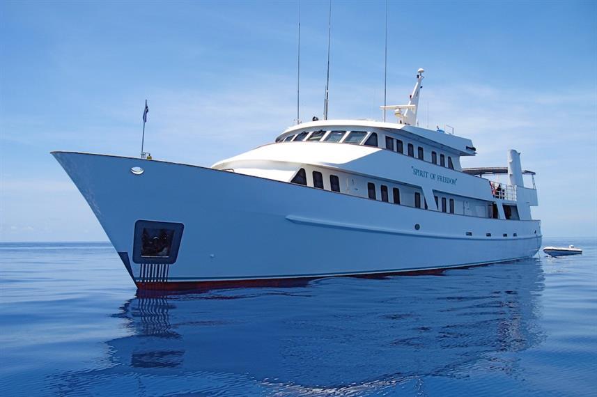 MV Spirit of Freedom - Australia Liveaboard Diving