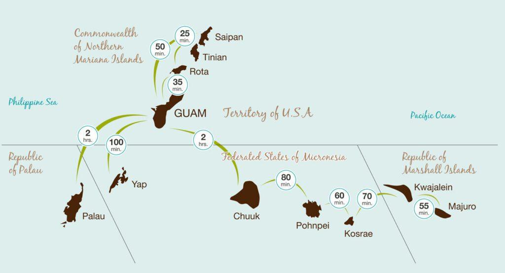 Micronesia Transit Map