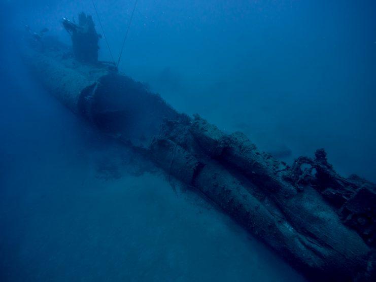 Scirè Italian Submarine Wreck - Haifa, Israel