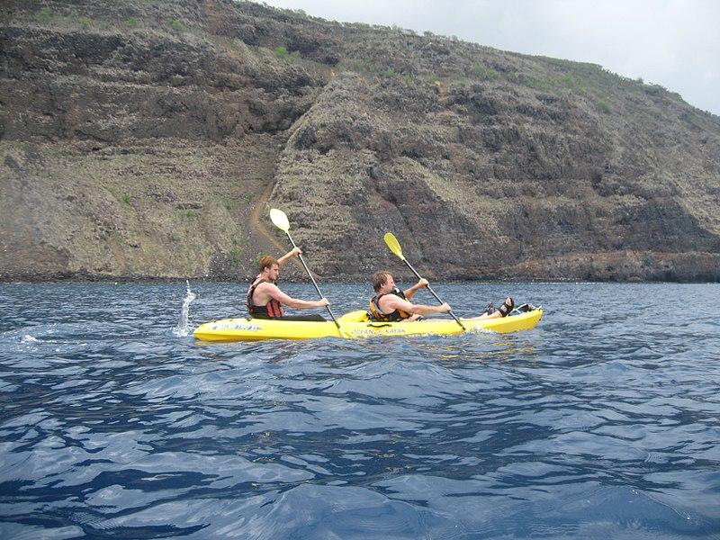 Ocean Tandem Kayaking