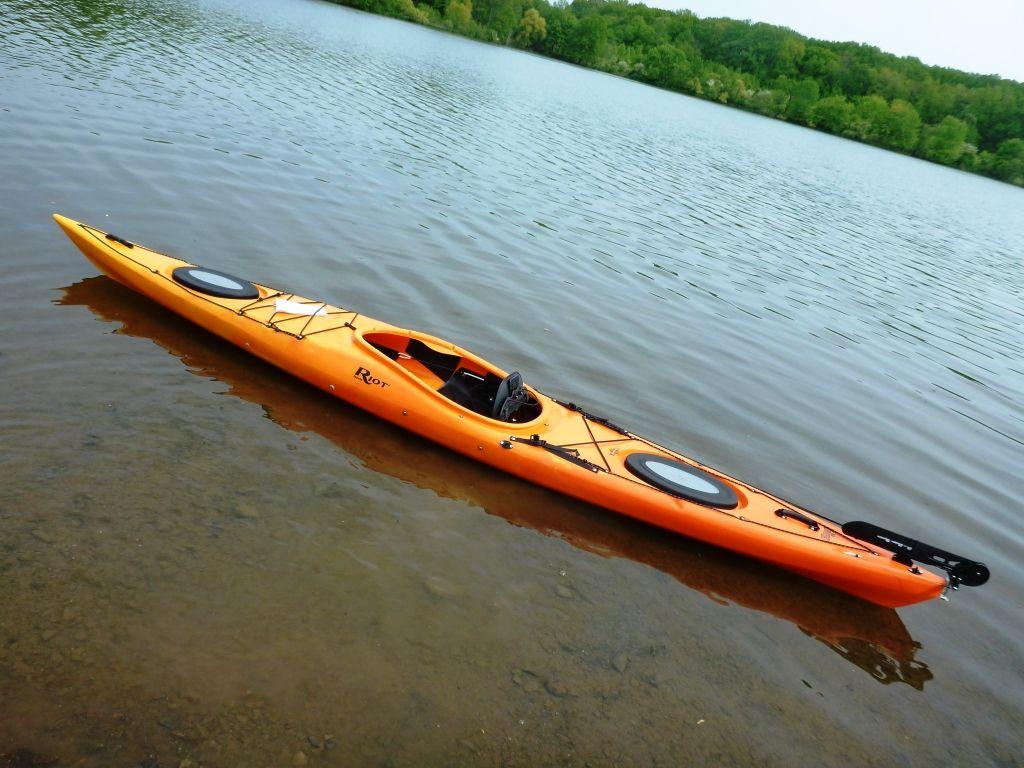 Riot Kayaks Edge 14.5 Edge LV Touring Kayak