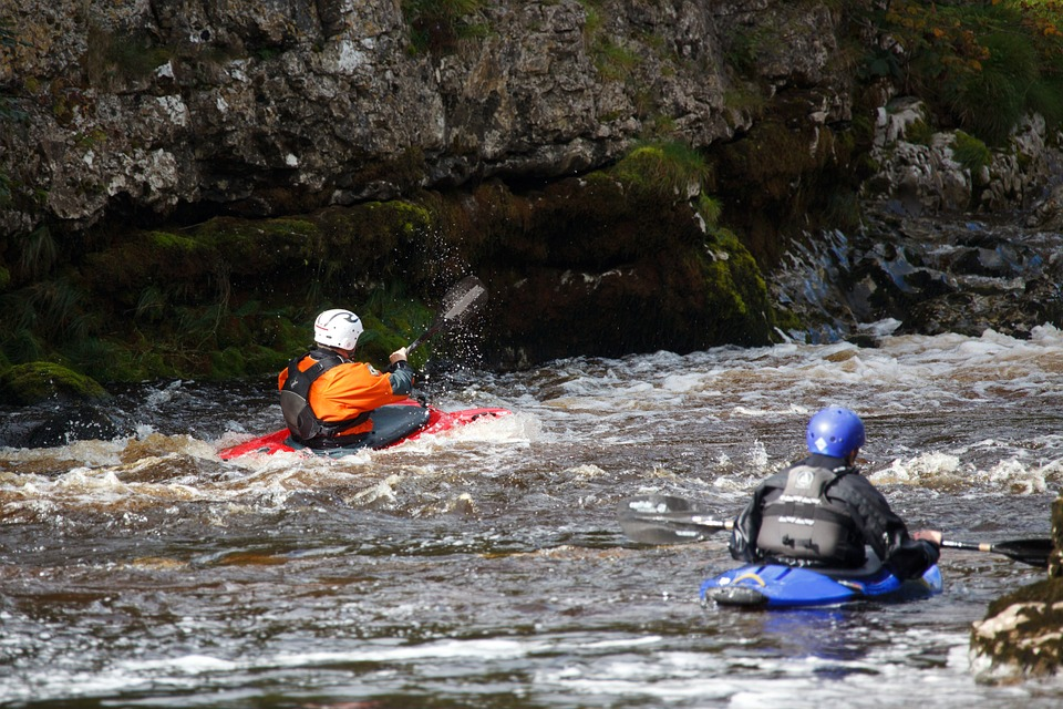 Whitewater Kayaks Beginners