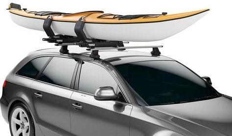 Thule Hullavator Pro Kayak Lift System - Kayak Roof Rack Systems