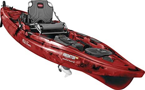 Old Town Predator MK Fishing Kayak with Motor and Rudder - Best Motorized Kayak Reviews