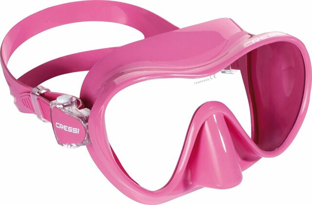 Cressi F1 Mini Frameless Scuba Diving Mask - Best Scuba Mask for a Small Face