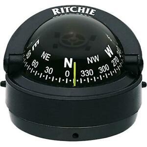 Ritchie Surface Mount S-53 Explorer Kayak Compass - Kayak Compass Reviews