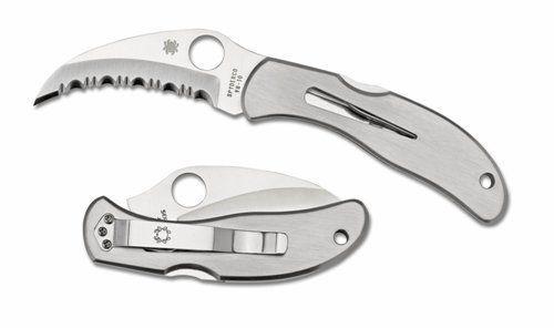 Spyderco Harpy Folding Fishing Knife - Best Fishing Knives Reviews