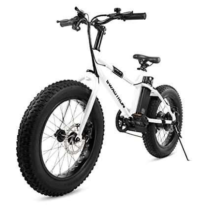 Swagtron EB-6 Bandit Electric Fat Bike - Best Affordable Electric Bikes