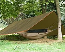 Free Soldier Waterproof Portable Tarp - Best Backpacking Tarp Shelter