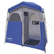 KingCamp 2-Room Camping Shower Tent - Best Shower Tent for Camping